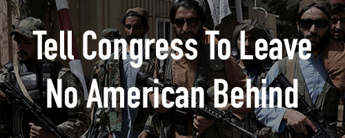 Leave No American Behind! Bring Them Home!