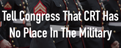 Tell the Senate Armed Services Committee that Critical Race Theory has no place in our military.