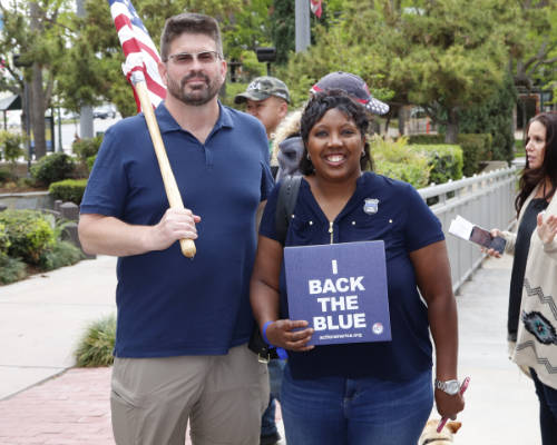 Host a Back the Blue Appreciation Event