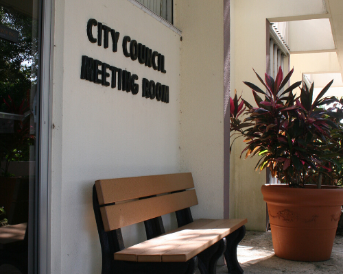 Attend a School Board or City Council Meeting