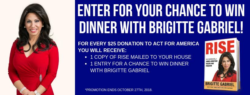 Dinner with Brigitte